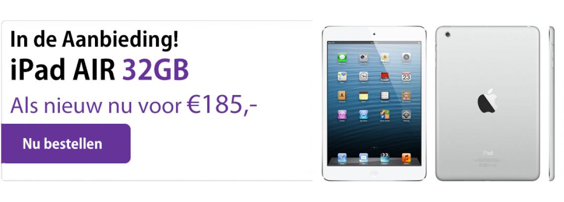 Aanbieding iPad AIR 32GB