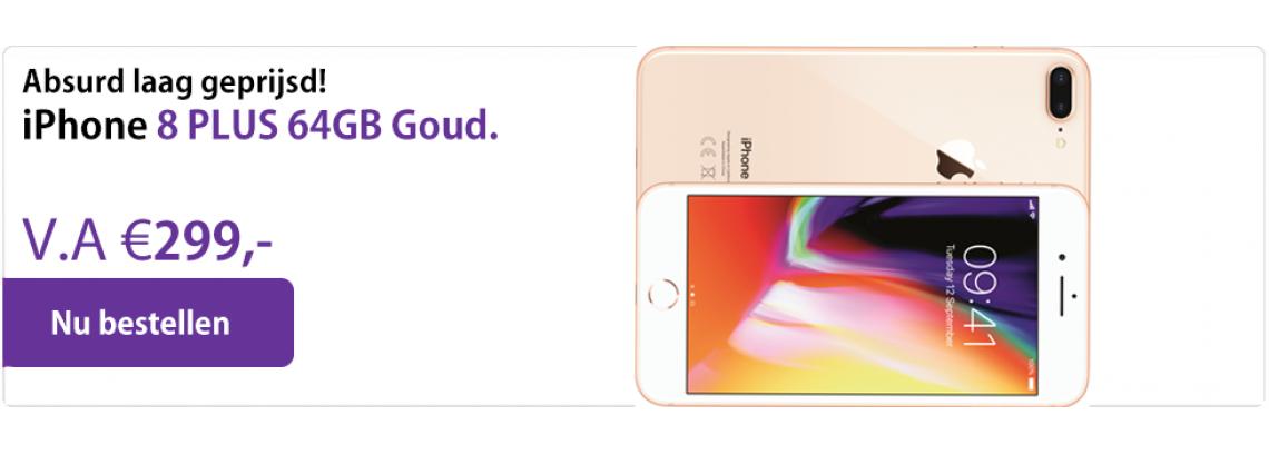 iphone 8 plus aanbieding