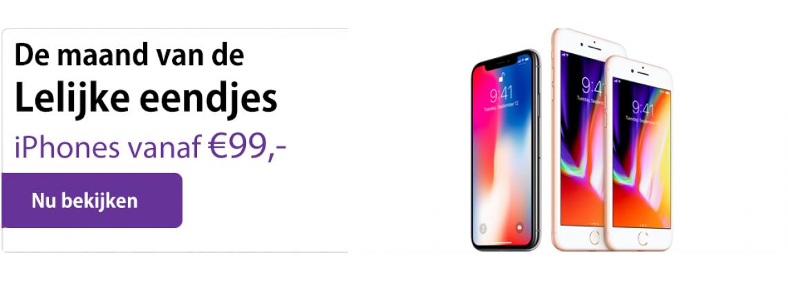 Aanbieding iPhones