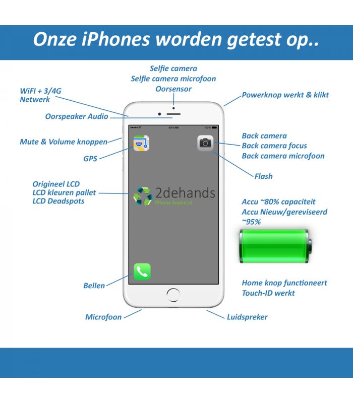 7cb42a3abaa4dd Refurbished, tweedehands iPhone 8 PLUS 64GB Zilver